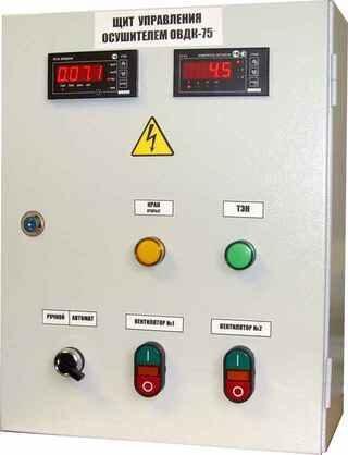 Щит управления осушителем сжатого воздуха ОВДК